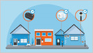 Amazon says Echo and Tile devices will become Bluetooth bridges for Sidewalk, its low-bandwidth, long-range wireless protocol, later this year (Frederic Lardinois/TechCrunch)