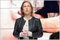 """Susan Wojcicki says YouTube will lift the suspension on Trump's account when it determines """"that the risk of violence has decreased"""" (Lauren Feiner/CNBC)"""